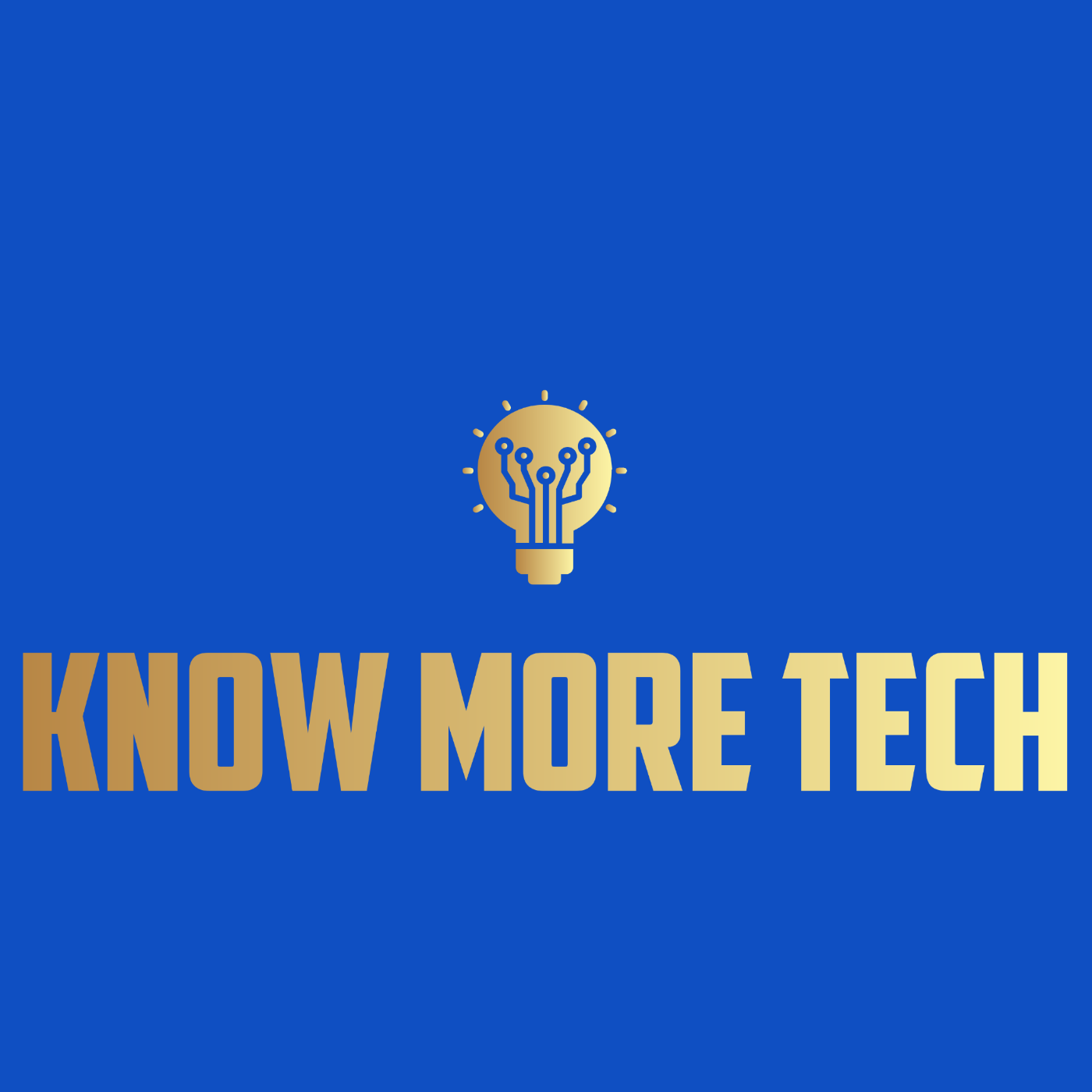 Know More Tech Logo